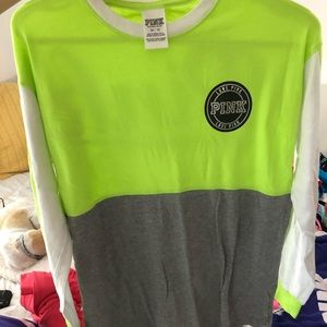 PINK VS long sleeve shirt